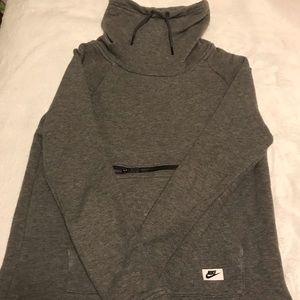 Gray Nike sweater